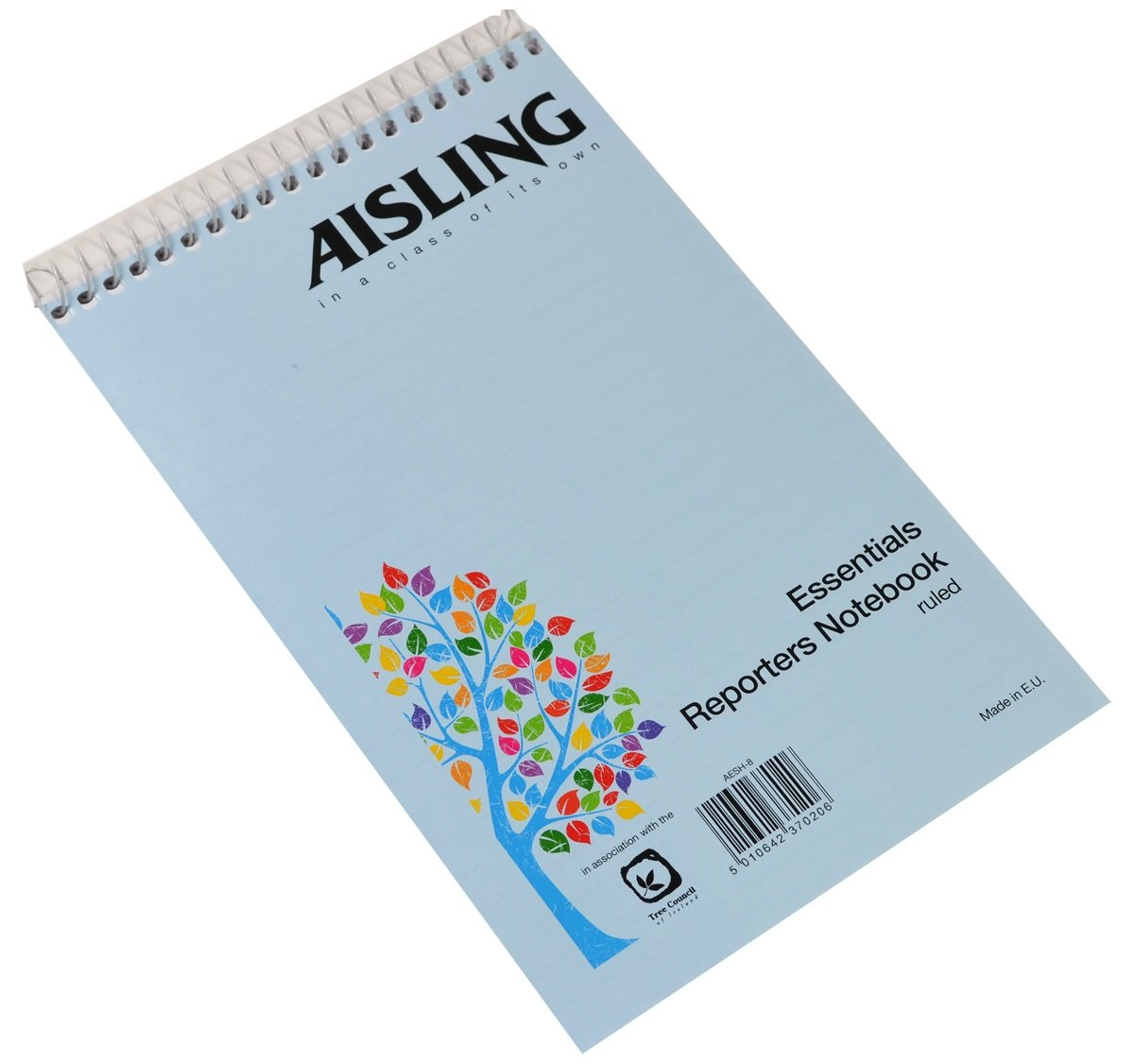 AISLING F8 200x127mm 50 Leaf Printed Reporter Notebook