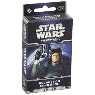 Star Wars LCG: Assault on Echo Base: Fantasy Flight Games: Toys & Games