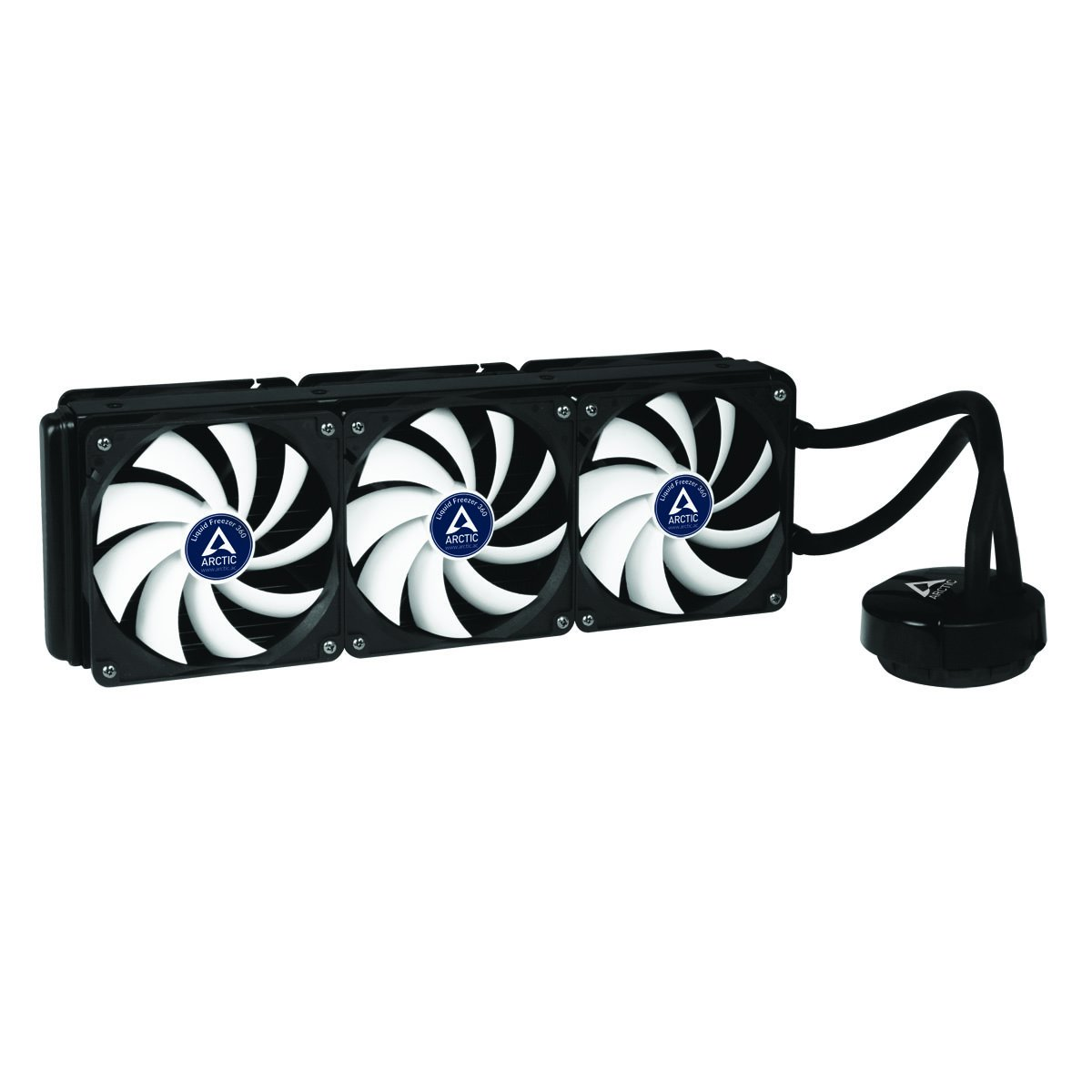 ARCTIC Liquid Freezer 360, High Performance CPU Water Cooler with 6 x 120 mm Low Noise Fans, 394 x120 mm Radiator, MX-4 Thermal Compound included