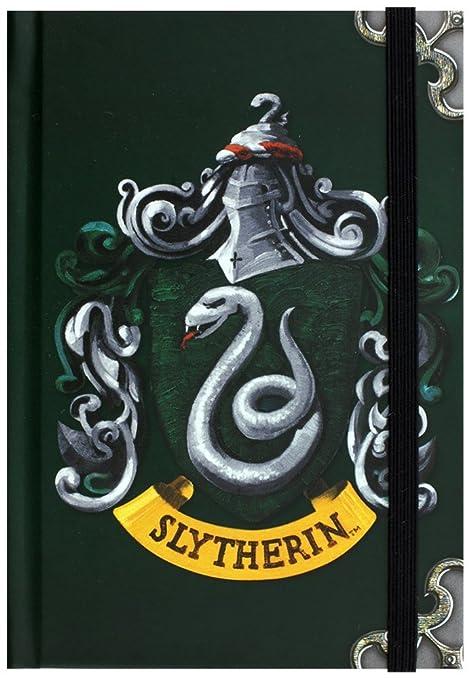 Harry Potter Serpeverde Hogwarts Casa Distintivo Notebook A6