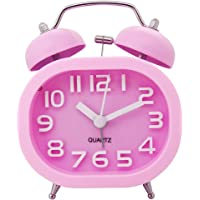 """3"""" Reloj Despertador de Doble Campana, COOJA Retro"""