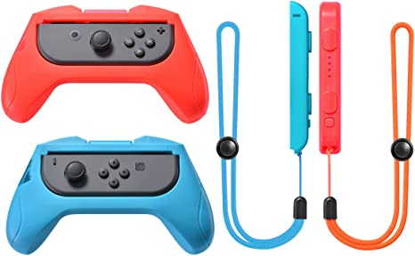 Grip Kits y Correa Kits de Joy-Con para Nintendo Switch de Sunix ...