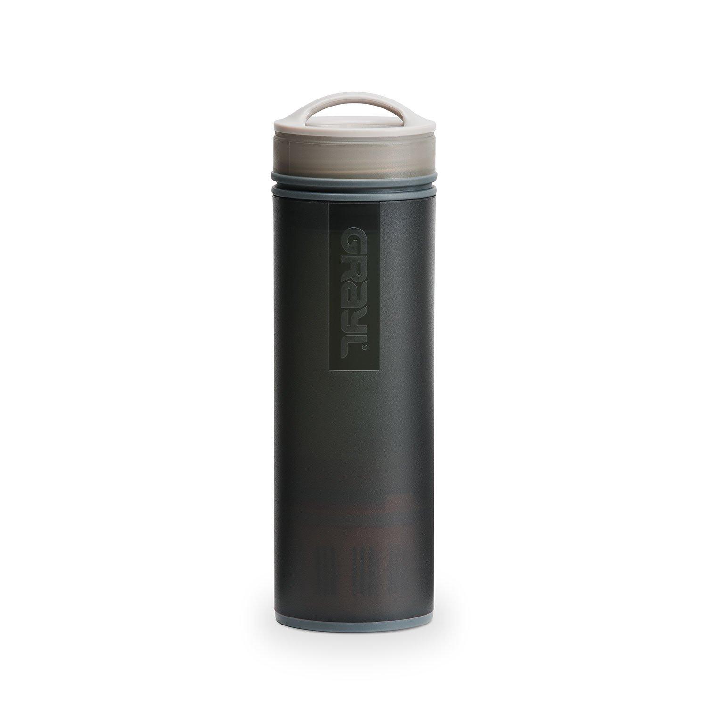 GRAYL Ultralight Water Purifier [+ Filter] Bottle (Black)