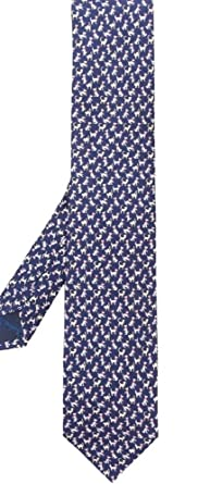 821d39995c70 Image Unavailable. Image not available for. Color: Salvatore Ferragamo  Men's Blue Cat Print Silk Neck Tie