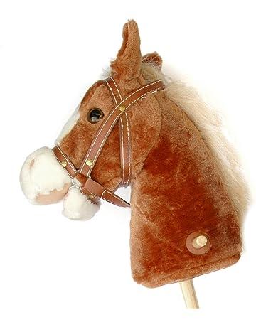 Pink Papaya caballo de juguete, Mr. Brownie, bonito caballo de juguete con sonido