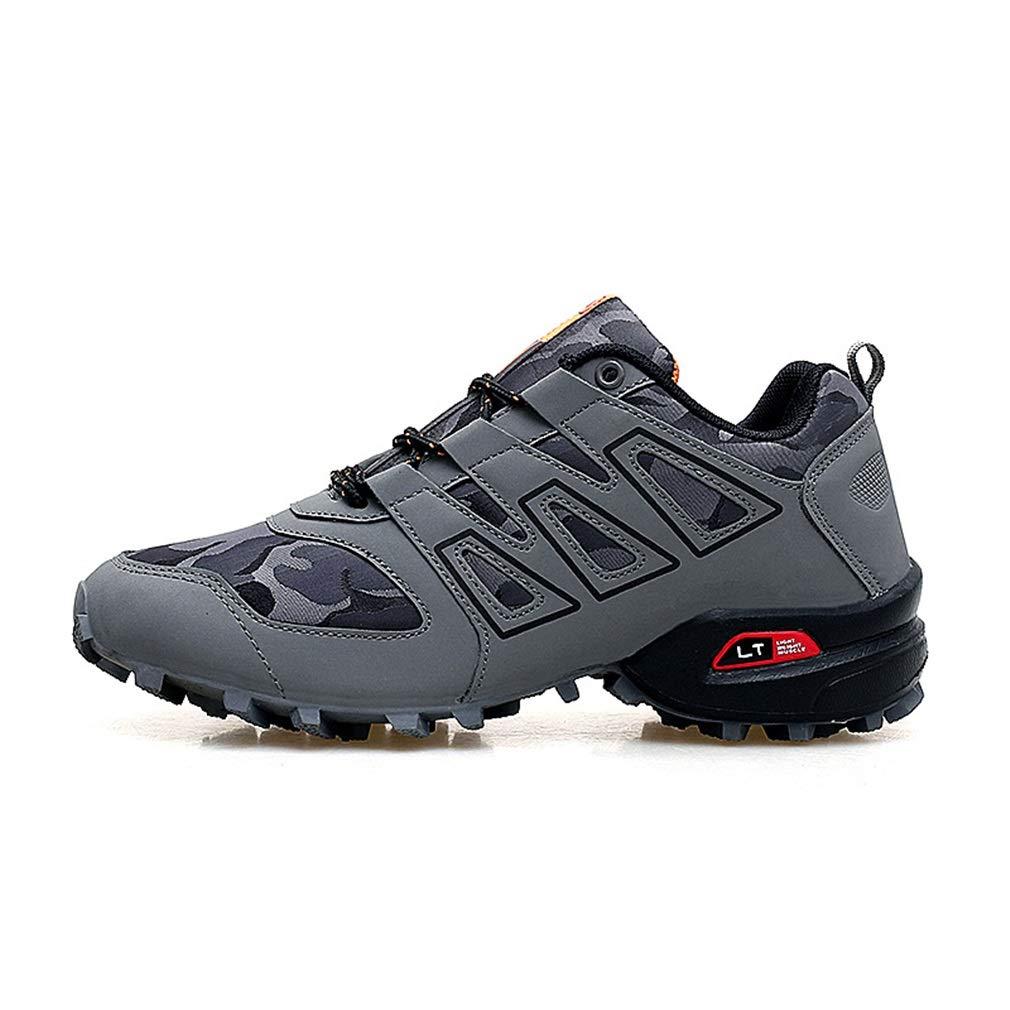 YAN Herrenschuhe Leichte Trekking Lauflernschuhe Niedrig Rise Outdoor, Suede & Mesh Schuhe Bergsteigen, Laufen, Training, Wandern (Farbe : C, Größe : 44)