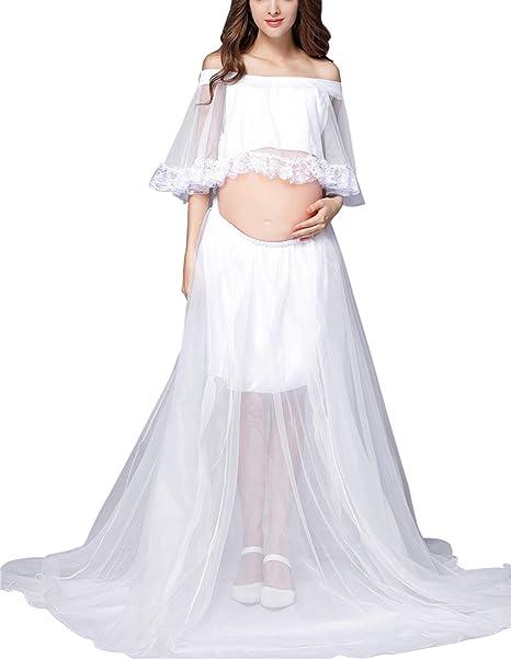 Happy cherry Vestido de Mujeres Embarazadas Conjunto de Ropa de Disfraz Fotos de Pre-mamá
