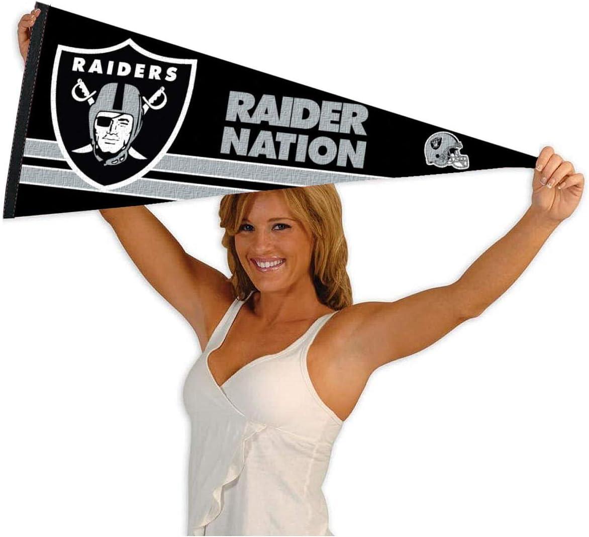 WinCraft Las Vegas Raiders Raider Nation Pennant Banner Flag