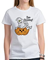 CafePress - Boo Humbug Halloween Women's T-Shirt - Womens Cotton T-Shirt, Crew Neck, Comfortable & Soft Classic Tee