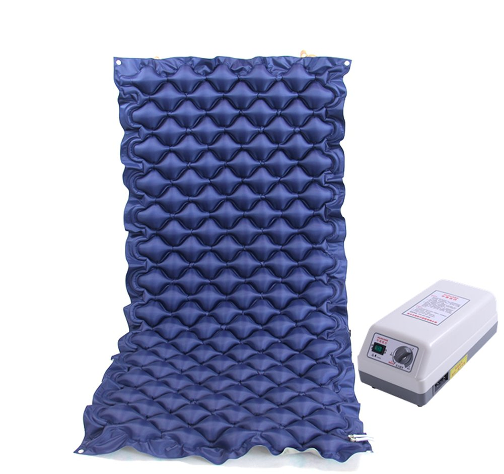 Air Cushion Inflatable Mattress Anti Bedsore Alternating Pressure Mattress Spherical Inflatable Bed Pad with Pump,Treatment Pain Relief