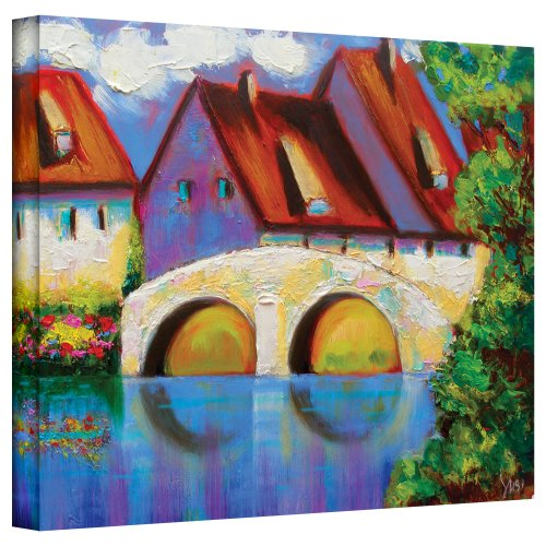 Art Wall German Village on Rhine Gallery Wrapped Canvas Art by Susi Franco, 14 by - Ri Stores Warwick In