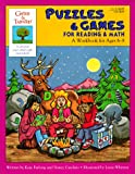 Puzzles and Games for Reading and Math, Kaye Furlong and Nancy Casolaro, 1565650654
