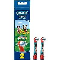Oral-B Stages Çocuklar İçin Diş Fırçası Yedek Başlığı, Mickey, 2 Adet