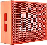 JBL GO Portable Wireless Bluetooth Speaker W/ A Built-In Strap-Hook (Orange)
