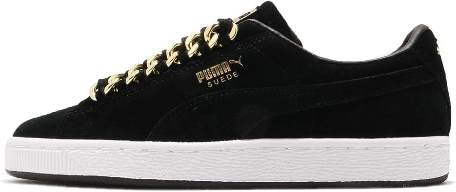 PUMA Suede Classic X Chain Femme Baskets Mode Noir: Amazon