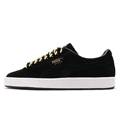 Puma Womens Suede Classic Chain Casual Sneakers