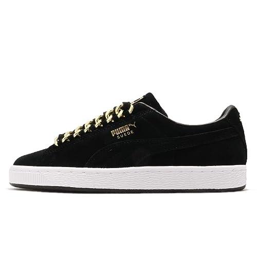 PUMA Suede Classic X Chain Donna Sneaker Nero: Amazon.it