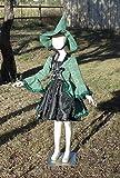 Girls 6-8 4 piece Green Hocus Pocus Geometric Witch