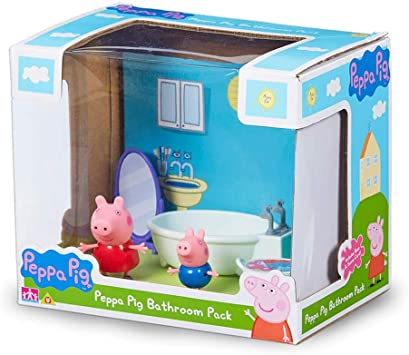 Juego de baño Peppa Pig Pack Scene: Amazon.es: Juguetes y juegos