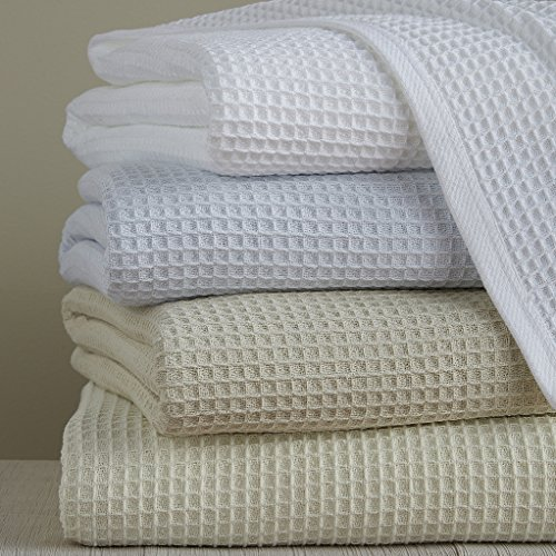 Sferra Brothers Kingston - King Blanket Ivory from Sferra