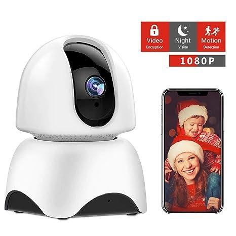 Amazon com : DJLOOKK Wireless IP Camera, 360 Home WiFi Security