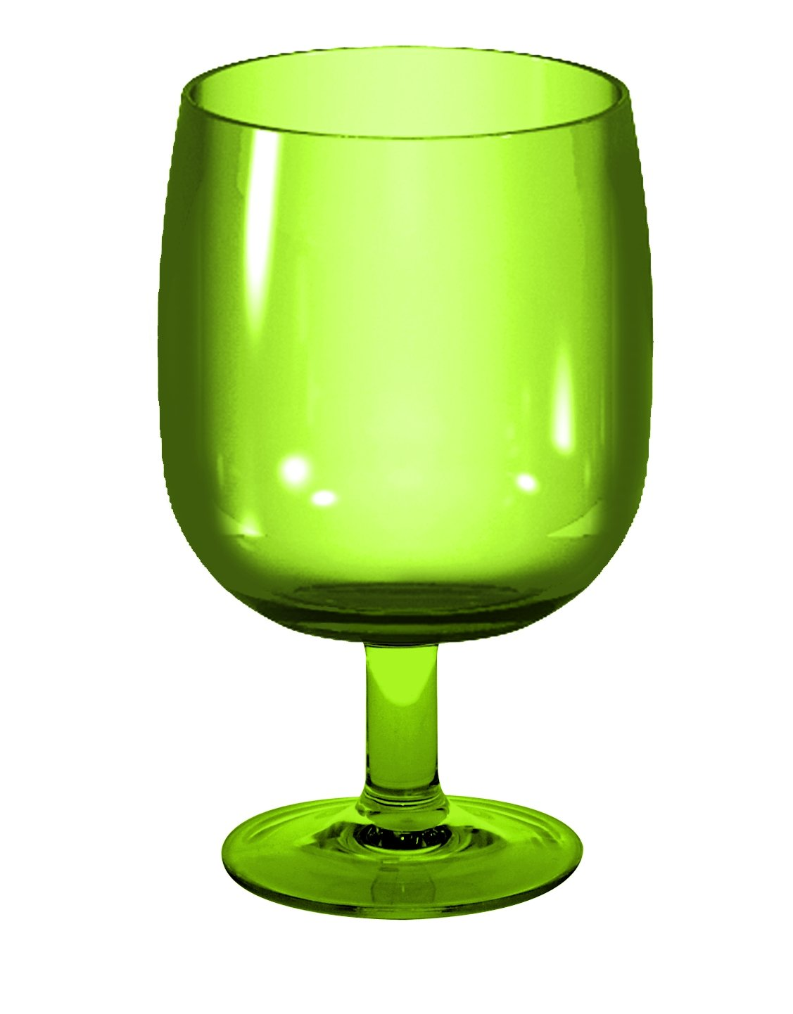zak! 25 cl Stacky Stem Glass, Green