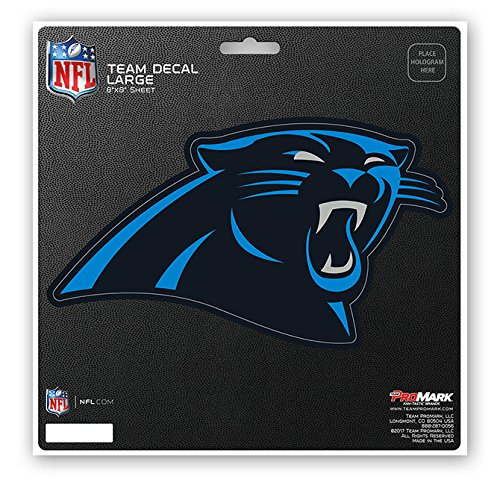NFL Carolina Panthers Unisex Carolina Panthers Decal Die Cutcarolina Panthers Decal Die Cut, Team Color, 8x8