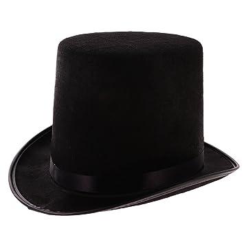 f16816c2a172e MagiDeal Juguetes de Disfraces Mago Halloween Sombrero Jazz Negro   Amazon.es  Juguetes y juegos