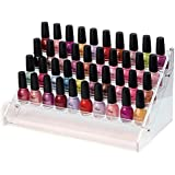 4/5/6 Tier Clear Acrylic Nail Polish Cosmetics Display Stand Rack Organiser (4 Tier)