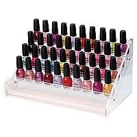 4/5/6 Tier Clear Acrylic Nail Polish Cosmetics Display Stand Rack Organiser