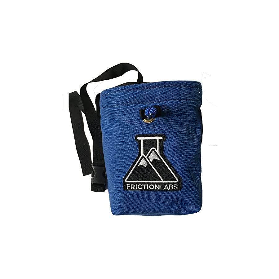 FrictionLabs Organic Climbing Chalk Bag with Quick Clip Belt   One of a Kind & Hand Sewn with Limited Edition Colors