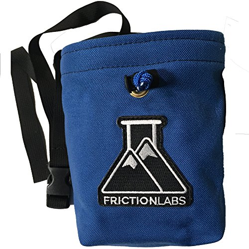 FrictionLabs Organic Climbing Chalk Bag with Quick Clip Belt | One of a Kind & Hand Sewn with Limited Edition Colors