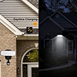 Solar Lights outdoor  80 LED Solar Powered Security Lights Waterproof Outdoor Motion Sensor Lighting for Wall , Patio, Garden, Landscape, Deck, Shed, Lawn, Fencing and Pathway
