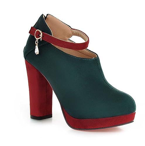 hebilla verdes con Zapatos formales para mujer Ez0wwqBx
