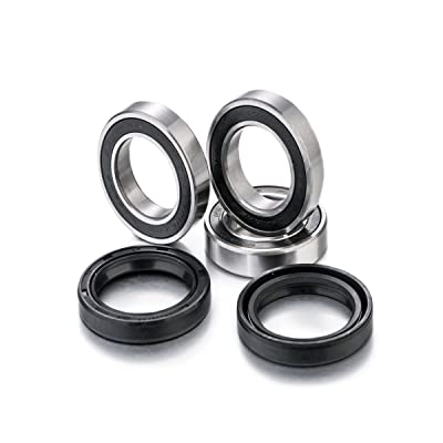 [Factory-Links] Rear Wheel Bearing Kits, Fits: Honda (2000-2020): CR 125R, CR 250R, CRF 250R, CRF 450R, CRF 250X, CRF 450X: Automotive