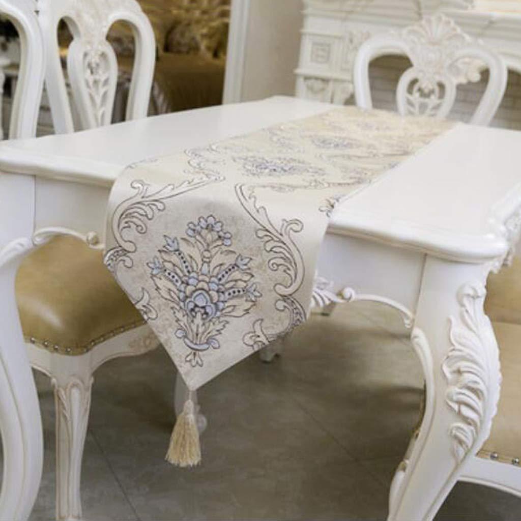 JJSP Tischfahne klassischen Retro Couchtisch Tischdecke Stickerei Tischfahne 32  160cm32  250cm (größe   32  170cm (120 Tables)) B07K7KRZ2P Tischdecken Schön    Moderate Kosten