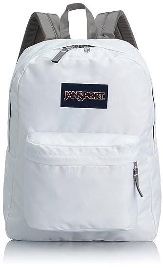 Amazon.com : JanSport Classic Superbreak Backpack White : Garden ...