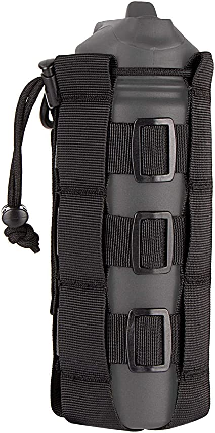 AIRSSON Molle Water Botttle Pouch Sports Pouch Bag Water Bottle Holder Tactical