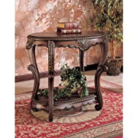 Coaster Home Furnishings 700014 Traditional Console Table, Brown