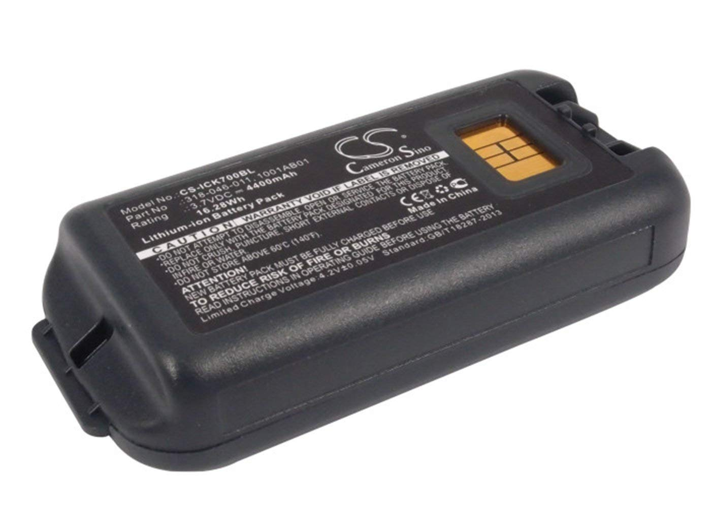 VINTRONS, INTERMEC 1001AB01, 1001AB02, 318-046-001, 318-046-011 Replacement Battery for INTERMEC CK70, CK71,