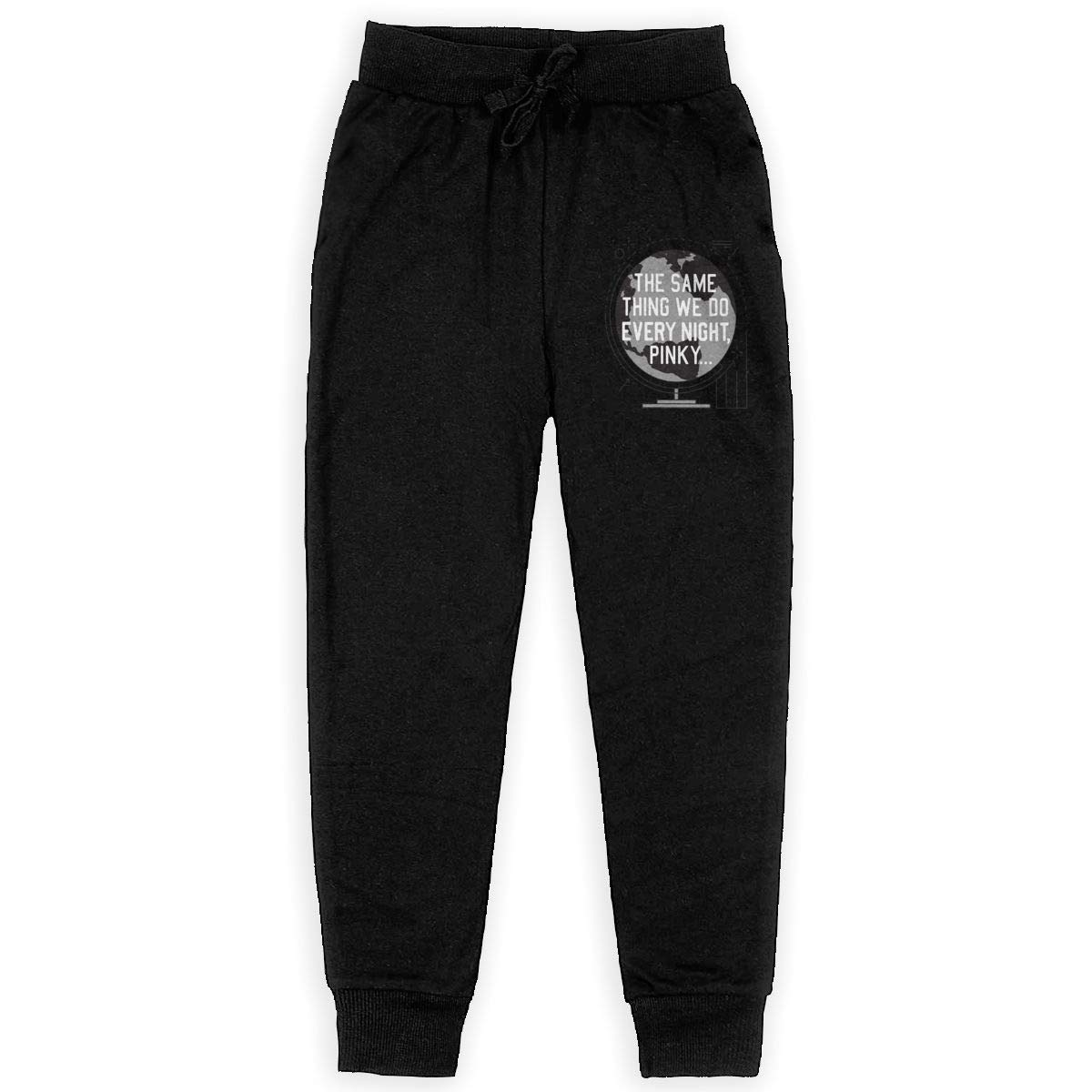 The Same Thing WE DO Every Night Boys Sweatpants,Joggers Sport Training Pants Trousers Black