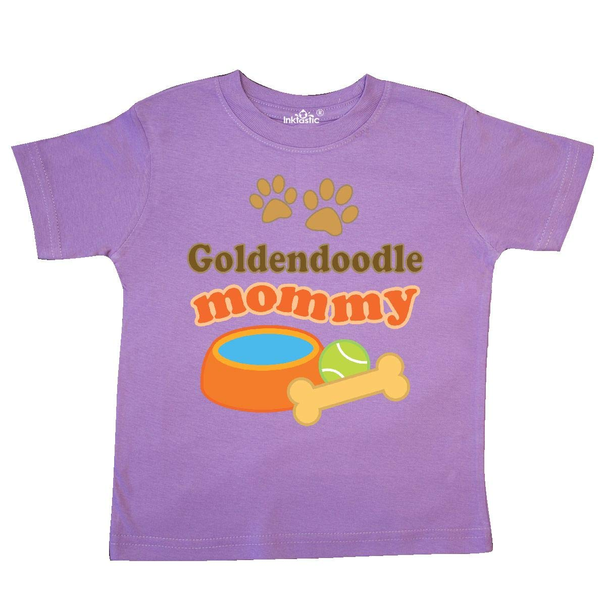 inktastic Goldendoodle Mommy Toddler T-Shirt