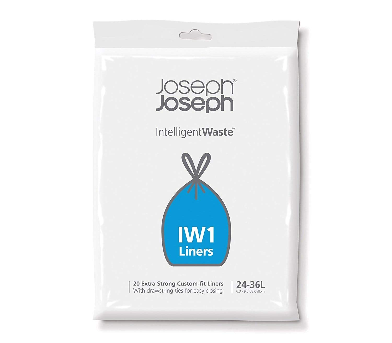 Joseph Joseph 20 Sacs Poubelle IW1 24/36 L