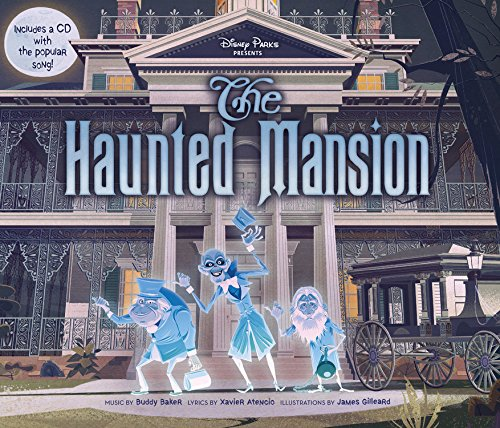 Image result for disney parks haunted mansion book