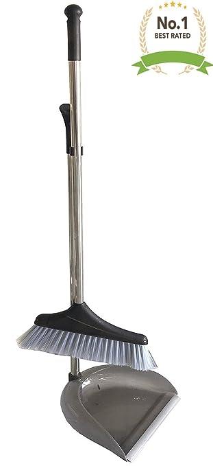 Amazoncom 1 Upright 35 Long Handle Dustpan And Brush Broom Set