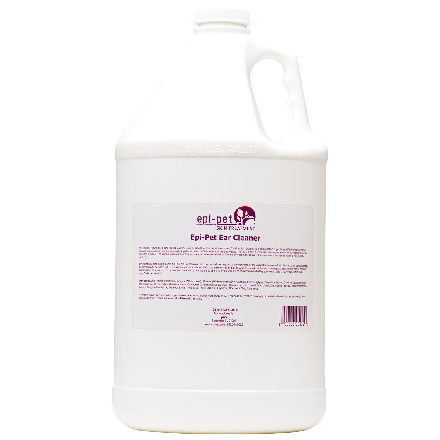 Epi-Pet Ear Cleaner for Pets, 1-Gallon