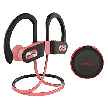 Mpow Auriculares Bluetooth Deportivos, V4.1 Impermeable IPX7 In ...