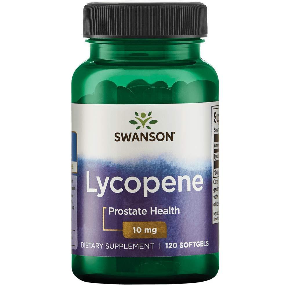 Swanson Lycopene 10 Milligrams 120 Sgels by Swanson
