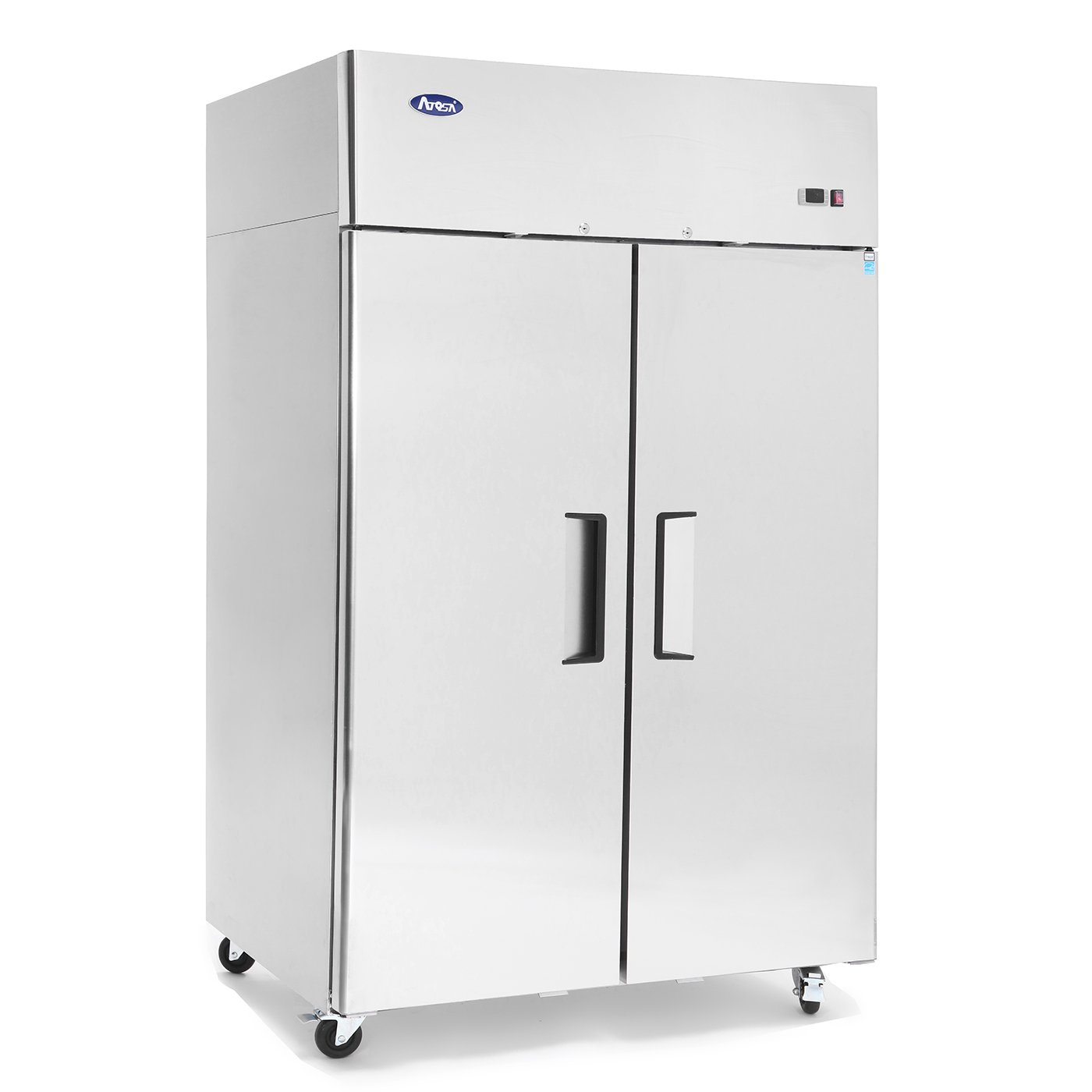 ATOSA MBF8002 Commercial Freezer, Double 2 Door Side By Side, Energy Star