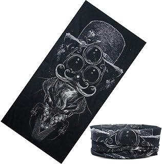 MAOYYM 48 * 25cm Bandane unisex Head Sciarpe Fascia elastica multifunzionale Sport senza cuciture Magic Headwear Outdoor Tube Mask Traspirante